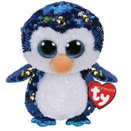 TY, Flippables - Payton Pingvin 15 cm
