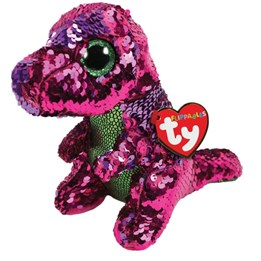 TY, Flippables - Stompy Dinosaur 23 cm