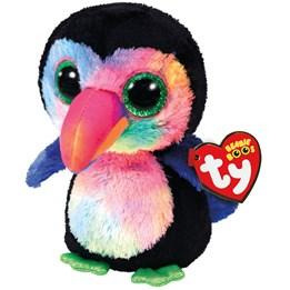 TY, Beanie Boos - Beaks Toucan Bird 15 cm