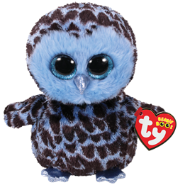 TY, Beanie Boos - Yago blue owl 15 cm