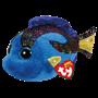 TY, Beanie Boos - Aqua blå fisk 23 cm