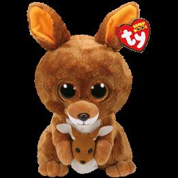 TY, Beanie Boos - Kipper brown kangaroo 23 cm