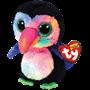 TY, Beanie Boos - Beaks toucan fugl 23 cm