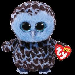 TY, Beanie Boos - Yago blue owl 23 cm