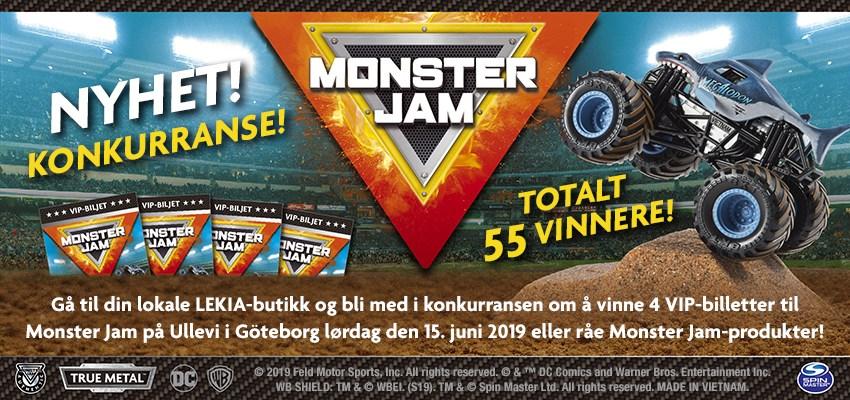 Monster Jam Konkurranse